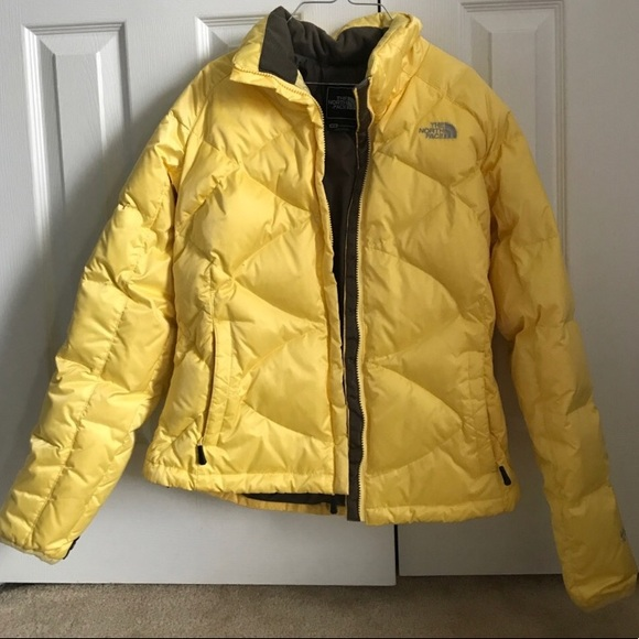 dccefc87b Women's Yellow North Face Jacket